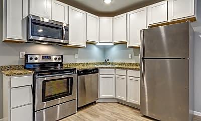 Kitchen, Red Door Townhomes, 0