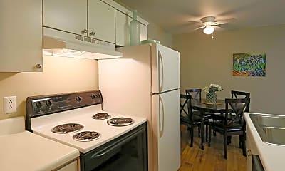 Kitchen, Hermitage Garden Apartments, 1