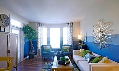 Living Room, Union Street Flats Apartments, 1