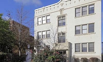 Building, Magnolias Apartments, 1