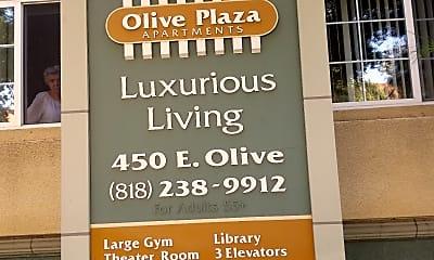 Olive Plaza Apartments, 1