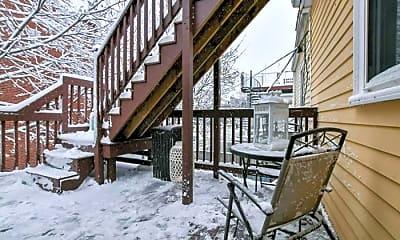 Patio / Deck, 542 E 8th St, 1