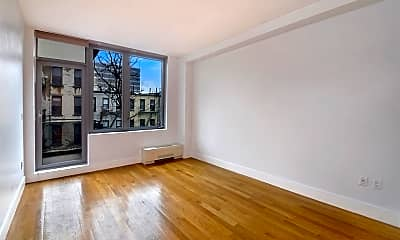 Living Room, 117 W 123rd St 4-B, 1