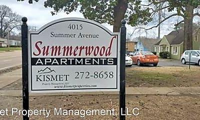 Community Signage, 4015 Summer Ave, 1