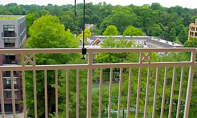 Patio / Deck, 7500 Woodmont Ave S1019, 2