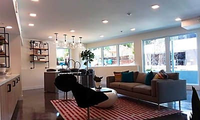 Living Room, 1605 Riviera Ave, 2