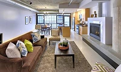 Living Room, 525 N 3rd St 214, 0