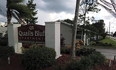 QUAILS BLUFF, 1