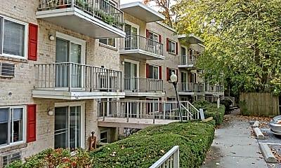 Building, Gayley Park Apartments, 1