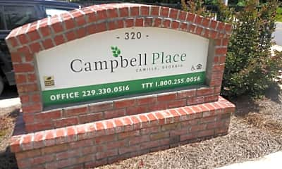 Campbell Place, 1