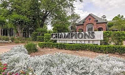 Community Signage, Champions Centre Apartments, 2