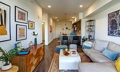 Living Room, Vert Apartments, 1