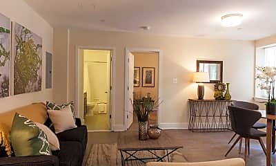 Living Room, Parkway Apartments, 0