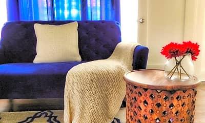 Living Room, Tancahua Apartments, 1