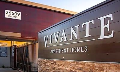 Community Signage, Vivante Apartments, 1