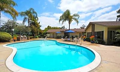 Pool, Mesa Garden, 1
