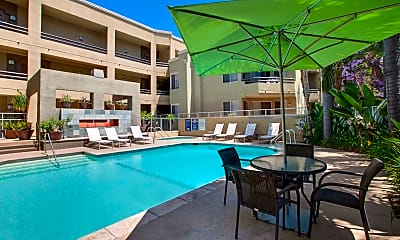 Pool, HillCreste Apartments, 2