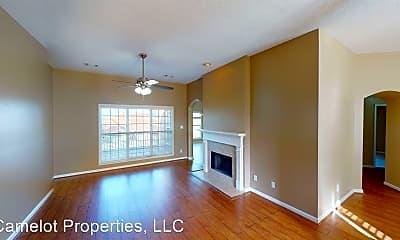 Living Room, 615 Castle Brook Dr, 0