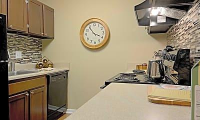 Kitchen, The Paramont, 1