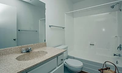 Bathroom, Country Woods Apartment Homes, 2