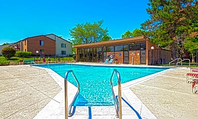 Pool, Hunter's Ridge Apartments, 2