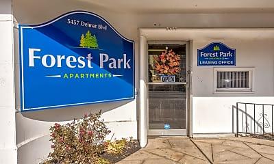 Community Signage, Forest Park Apartments, 2