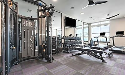 Fitness Weight Room, 3330 Oak Grove Ave 604, 2