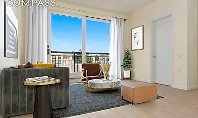 Living Room, 524 Ocean View Ave 2-D, 1