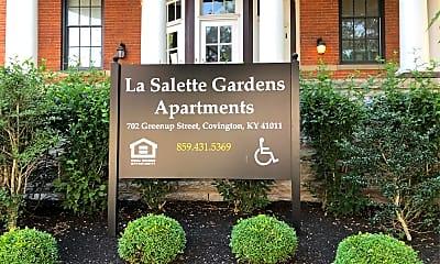 Lasallette Gardens, 1