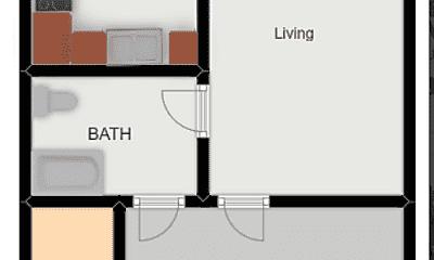 Patio / Deck, 715 NE 6th St, 2