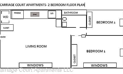 Bathroom, 620-700 Whitman St, 2