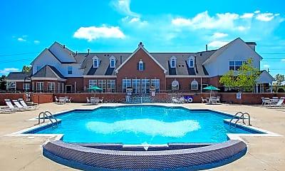 Pool, Westbury Apartments, 1