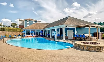 Pool, West Run Apartments - Per Bed Leases, 0