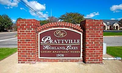 Community Signage, Prattville at Highland Lakes Apartments, 2
