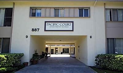 Building, Pacific Court, 0
