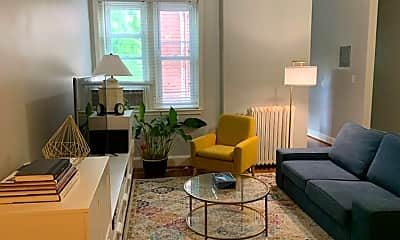 Living Room, 1347 Euclid St NW, 0