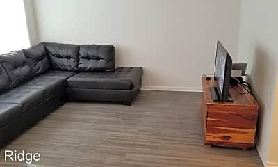 Living Room, Pine Ridge Apartment Homes, 1