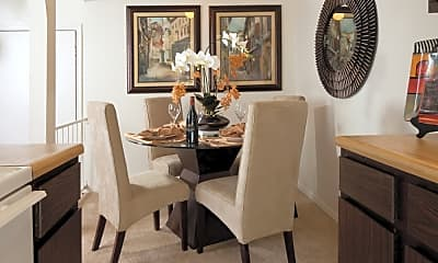 Dining Room, Mosaic Apartments, 1