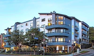 Building, 888 Hilgard Furnished Living, 0