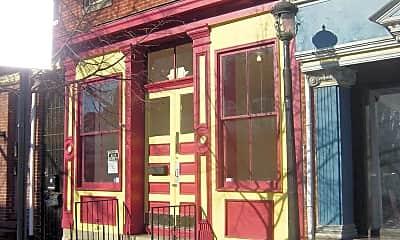 Building, 1706 Aliceanna St, 1