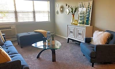 Living Room, Village at Levittown, 1