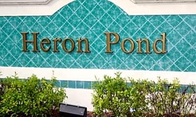 Community Signage, Heron Pond, 1