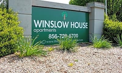 Community Signage, Winslow House Apartments, 0