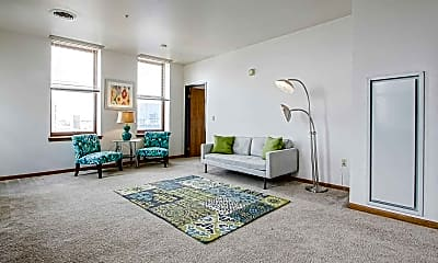 Living Room, Majestic Loft Apartments, 1