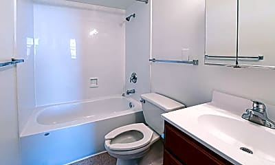 Bathroom, Covenant House Apartments, 2