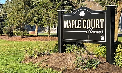 MAPLE COURT HOMES, 1