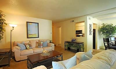 Living Room, The Life at Legacy Fountains, 1