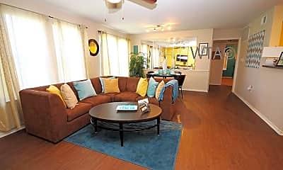 Living Room, 1515 Wickersham Ln, 1
