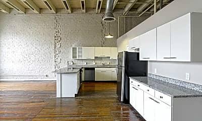 Kitchen, Fix Play Lofts, 1