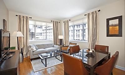 Living Room, 1 Wall Street Court, 0